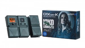 Zoom Pedaleira para Guitarra G1Xon-K Kiko Loureiro Signature