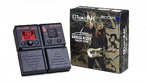 Zoom Pedaleira para Guitarra G1on AK Andreas Kisser Signature