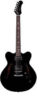 Guitarra Tagima Semi Acústica Seattle Preta