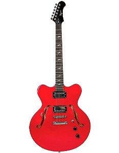 Guitarra Tagima Semi Acústica Seattle Vermelha