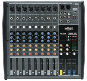 Mesa de Som Mark Audio CMX08-USB 8 Canais