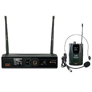 Microfone Sem Fio Headset/Lapela Kadosh K-501H