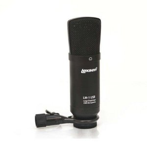 Microfone Condensador Cardióide Lexsen LM-1USB