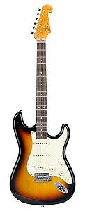 Guitarra SX Vintage SST62 Sunburst