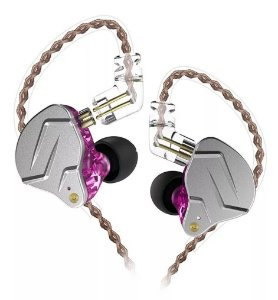 Fone In Ear Kz Zsn Pro + Case Kz