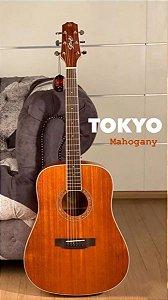 Violão Seizi Tokyo Folk Mahogany