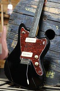 Guitarra Tagima Woodstock TW-61 P90 Jazzmaster Preto Vintage