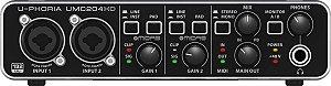 Interface de Áudio USB Behringer UMC204HD