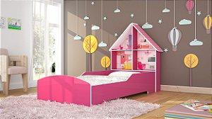 CAMA CASINHA 090 Pink Ploc - Gelius