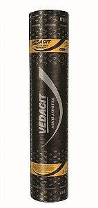 Manta Asfáltica Alumínio Rolo 10M² - VEDACIT