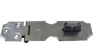 Porta Cadeado Zincado N.04 (2.1/2) CX C/12 Unid - INCA