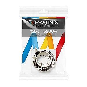 Resistência de Chuveiro Tipo Hydra Fit Eletrônica 127V 5500W - PRATIMIX