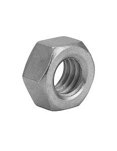 Porca Torneada 3/16 zincada NC c/100 peças  Ref. 1015 - TORALF