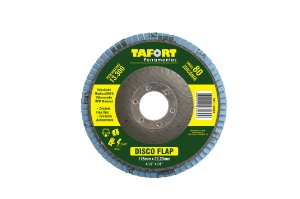 Disco Flap Zircônia 115mm Gr80 - TAFORT