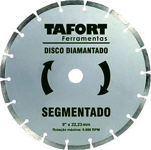 Disco Diamantado Segmentado 9 Pol (230mm x 22,23mm) - TAFORT