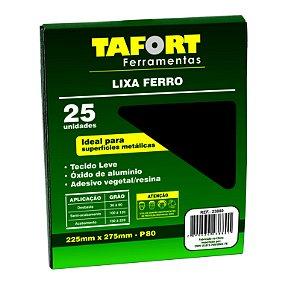 Lixa Ferro Gr 080 (25Pcs) - TAFORT