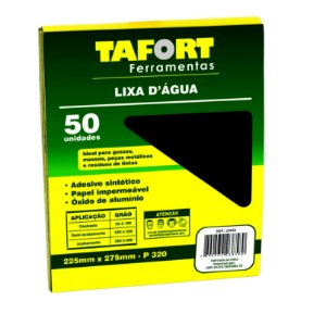 Lixa D'Água Gr 320 (50Pcs) - TAFORT