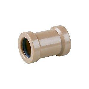 Luva Correr Marrom 25mm - PLASTUBOS