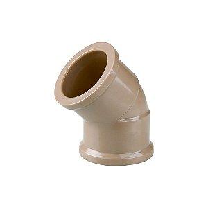 Joelho 45º Soldável 20mm Pct/50 - PLASTUBOS