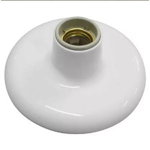 Plafon Branco 100W Com Receptáculo - ILUMI