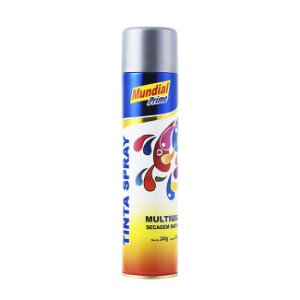 Tinta Spray 400ml Luminosa Amarelo - MUNDIAL PRIME