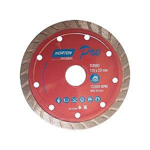 Disco Diamantado Pró Turbo 110X20mm - NORTON