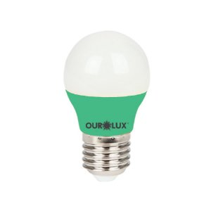 Lâmpada Super Led S30 Colors 3W Bivolt Verde - OUROLUX