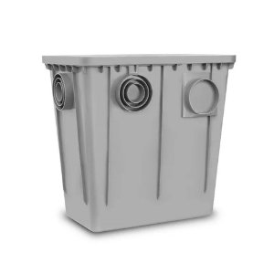 Caixa De Gordura Cinza 52Lt - ROMA