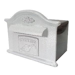 Caixa de Correio Carta Dama Branca 25x15x15cm - 2 IRMÃOS