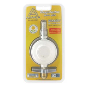 Regulador De Gás 504 / 01 Bt Pq - ALIANÇA