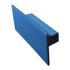 Desempenadeira Plástica Lisa 7X16cm Azul - EMAVE