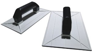 Desempenadeira Plástica Para Textura 18X30cm Branca - EMAVE