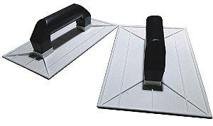 Desempenadeira Plástica Para Textura 15X26cm Branca - EMAVE