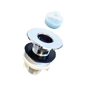 Válvula para Lavatório Com E Sem Ladrão- Abs Cromada - FERE