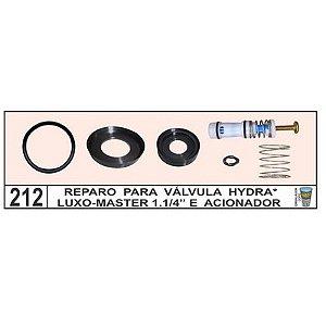 Reparo Para Válvula Hydra Luxo E Master 1.1/4 E Acionador - Mix Plastic