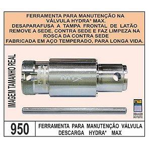 Ferramenta Para Manutencao Válvula Descarga Hydra Max - Mix Plastic