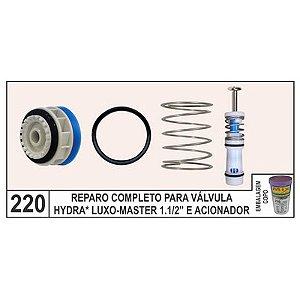 Reparo Completo Válvula Hydra Luxo E Master 1.1/2 E Acionador - Mix Plastic