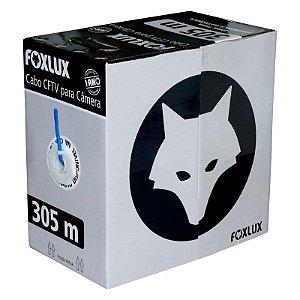 Cabo CFTV Para Câmera 305 Metros Foxlux - FOXLUX