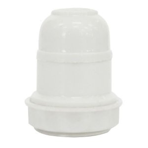 Bocal Pendente Para Abajur Termoplástico Branco - FOXLUX