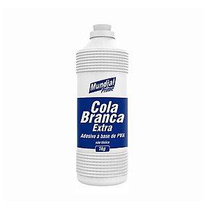 Cola Branca Pva Extra 1KG - MUNDIAL PRIME