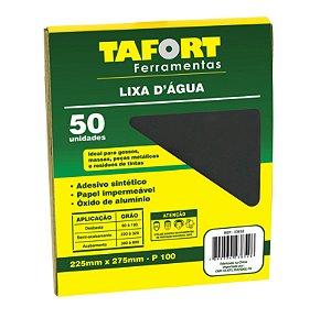 Lixa D'Água Gr 100 (50Pcs) - TAFORT