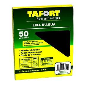 Lixa D'Água Gr 150 (50Pcs) - TAFORT