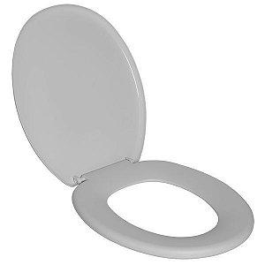 Assento Sanitário Oval Branco - PLASTUBOS
