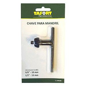 Chave Para Mandril 3/8 e 1/2 - TAFORT