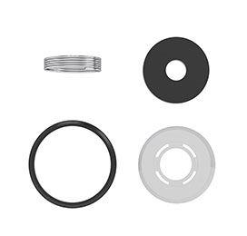 """Reparo para Valvula de Descarga Hydra* Luxo/Master - 1.1/2"""" Simplificado Ref. 1046 - CENSI"""