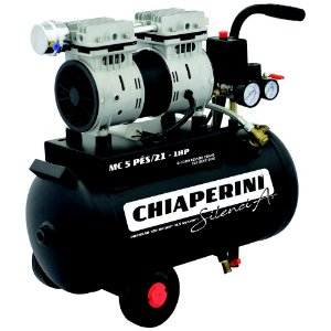 Motocompressor SILENCIAR 5BPO/21Lts S/Óleo 230Volts - CHIAPERINI