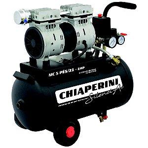 Motocompressor SILENCIAR 5BPO/21Lts S/Óleo 127Volts - CHIAPERINI