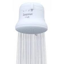 Ducha IDEALE PLUS 4 Temperatura 6800W 220V Branco BLI.PR - ZAGONEL