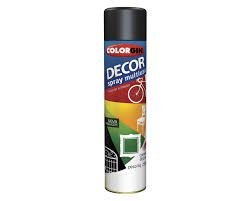 Tinta Spray Decor Preto Fosco - SHERWIN-WILLIAMS