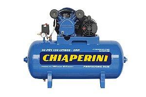 Compressor De Ar 10 Pés 110 litros Blue Rch 110L C/MM 2HP 110/220V - CHIAPERINI